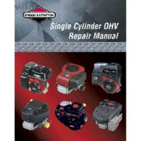 BRIGGS & STRATTON V-TWIN Vanguard OHV SERVICE REPAIR MANUAL SHOP TECHNICIAN