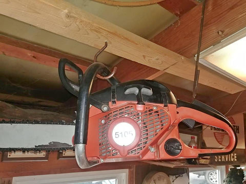 "Gently Used Dolmar PS-5105 PS5105 chainsaw w/ 20"" bar & chain"