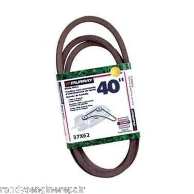 37X62 37X62MA OEM MURRAY DECK BLADE DRIVE BELT PART 40""