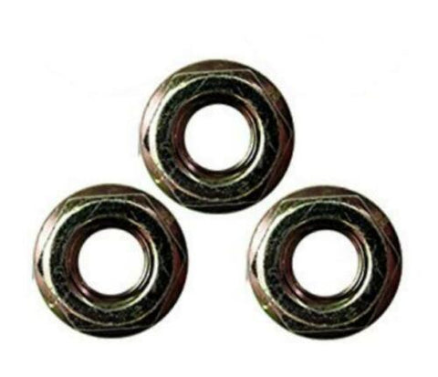 (3 Pack) Craftsman Poulan Husqvarna Chainsaw Replacement Bar Mount Nut 530015917