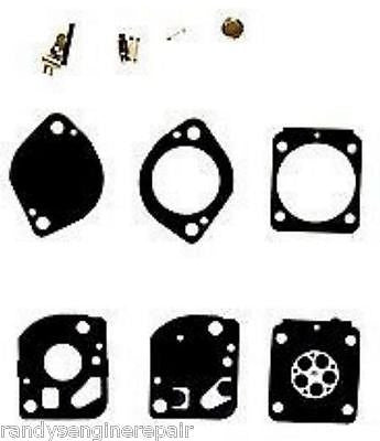 zama repair rebuild carburetor overhaul kit rb-132 fits C1Q-S98