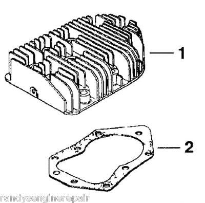 Genuine Kohler 45 015 09 Head Cylinder With Gasket Fits Select K341