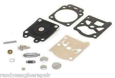 Carb Kit for Strikemaster Ice Auger for WTA for Walbro Carburetor Repair Rebuild