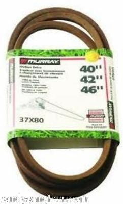 MURRAY CRAFTSMAN Sears drive v-belt 37x80, 37x80MA