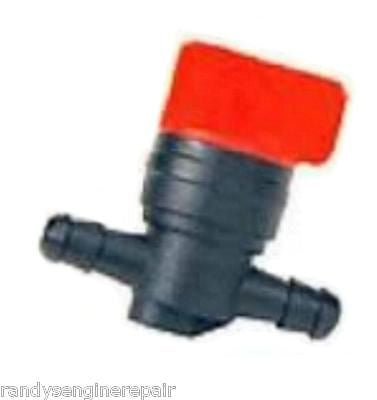 "1/4"" FUEL SHUT OFF Valve Straight Inline Cut-Off Gas Petcock Motorcycle Mower"