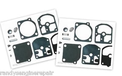 Zama OEM RB-3 Carb Repair Kit for Homelite 330 saws (2 Pack)