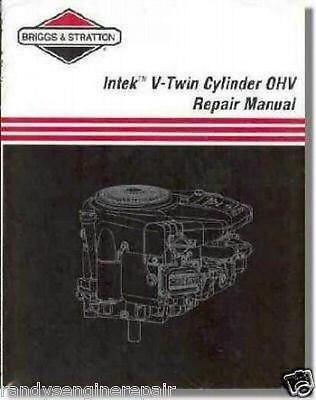 BRIGGS PART# 273521 SERVICE MANUAL INTEK V-TWIN OHV