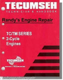 TECUMSEH TC TCH TM SERIES 2 CYCLE SERVICE MANUAL 694782
