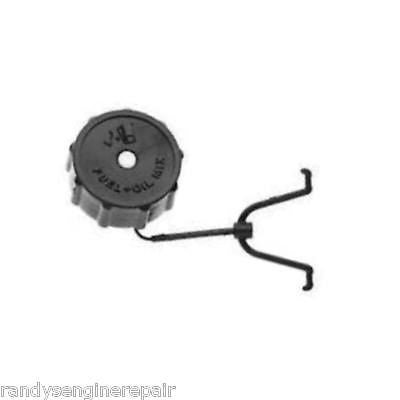Gas tank fuel cap for Homelite and John Deere string trimmer A00982A, A00982B