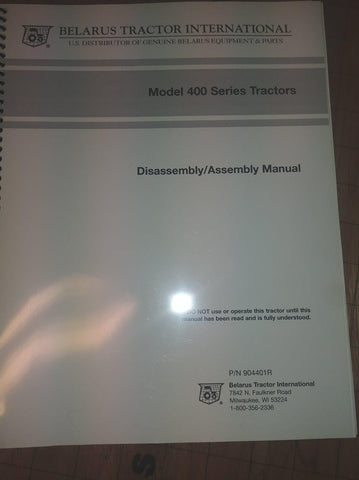 service manuals for heavy equipment