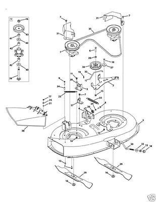 Spindle Assembly Mtd Bolens White 618 04474 918 04474