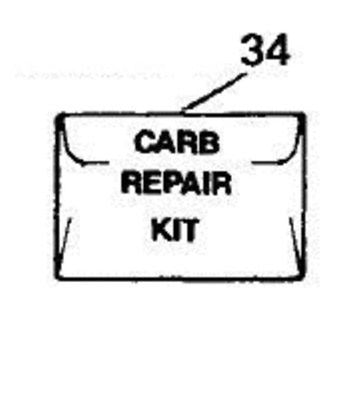 McCulloch Chainsaw Carb Kit, ZAMA RB-18 for Timber Bear