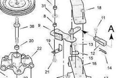 Murray Belt guide 055894 55894MA MU55894 riding mower NO