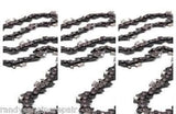 "(3) 16"" Chainsaw Chains .325"" x .050"" x 66dl Low Vibration replace 5313004-37"