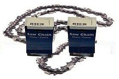 "24"" 3/8"" .050"" 2-PK Husqvarna Saw Chain 455 Rancher 460"