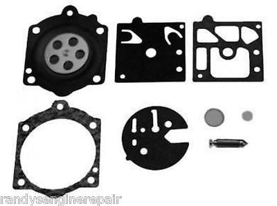 Walbro HDB Carburetor Repair Rebuild Kit Poulan Pro Sears 3400 3700 3800