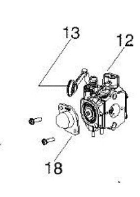 CARBURETOR POULAN WEED EATER CRAFTSMAN 545081831 PART