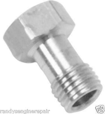 Tecumseh carburetor fuel bowl nut # 632392