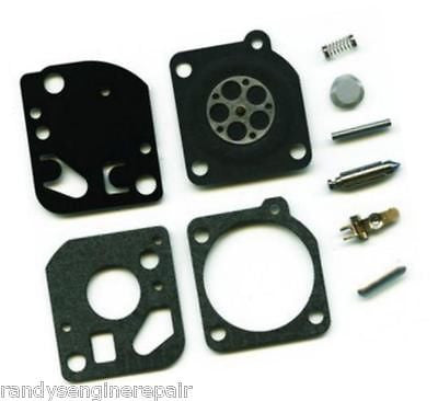 Carburetor Repair Kit Zama Rb-121 For Echo Srm 2015 / 2305 / 2455 / At203a