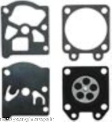 Tecumseh 632320A Carburetor Gasket & Diaphragm Kit OEM fits TC200, TC300
