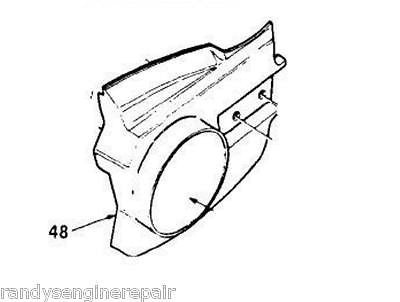 Drivecase Clutch Cover 65131-15 6513115 VINTAGE Homelite