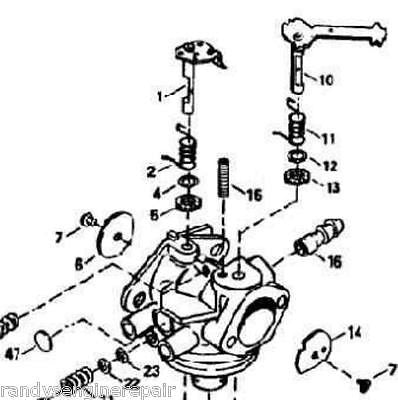 Toro Briggs And Stratton Engine Parts on wiring schematic for murray riding mower