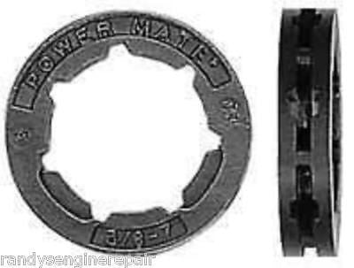 (1) New 3/8 7T Rim Sprocket for MS 440 441 460 044 046 Stihl Chainsaw