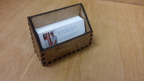 Beautiful Laser-Cut Business Card Holders! Customization Available! FREE US SHIPPING!