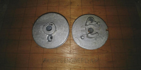 (1) RECOIL STARTER PULLEY vintage REMINGTON Mighty Mite CHAINSAW 68059 68059A