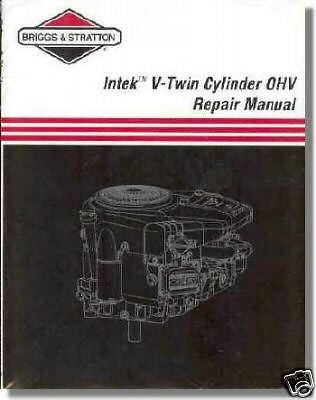 BRIGGS & STRATTON INTEK V-TWIN SERVICE MANUAL 273521