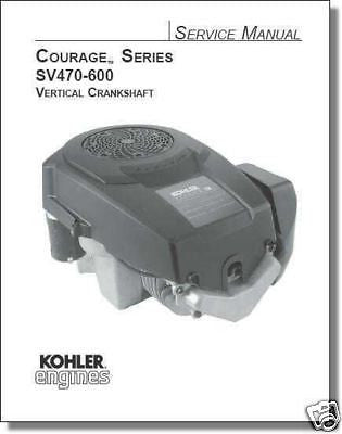 TP-2548a = 20-690-01 NEW REPAIR Manual Courage Series KOHLER Engine