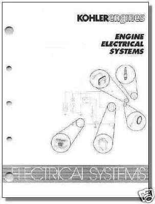 ELECTRICAL Systems Manual TP-2210-A NEW KOHLER Engine