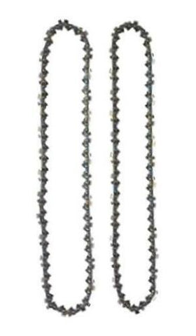 "(2 PACK) Chain for BLACK & DECKER LCS1240 40-volt 12"" Chainsaw"