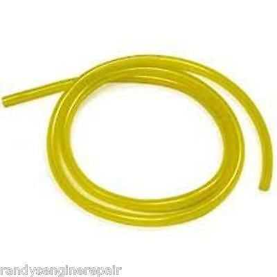"1/4"" ID 3/8"" OD Premium Fuel Gas Petrol Line By The Foot Yellow in Color New"
