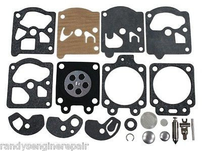 Carb Kit for Poulan 2400, 2100 for Walbro WT 247 Carburetor Repair Rebuild New