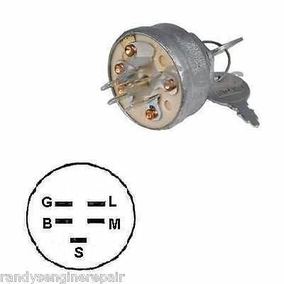 1754250 Ignition Switch Troy Bilt 1754250P Exmark AYP +