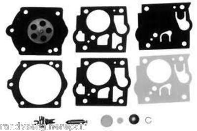 Homelite 1050 1130 Walbro SDC60 SDC74 Carburetor Kit K10-SDC New