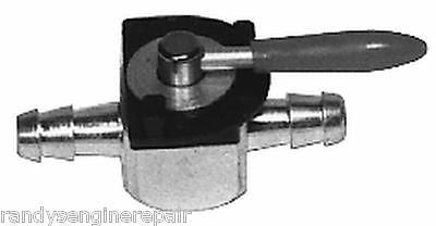 "1/4"" Fuel Shut-Off Valve In-line Cut-Off Petcock Heavy Duty Steel Mower ATV Bike"