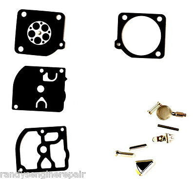 zama repair rebuild carburetor kit rb-72 fits C1Q-DM1 C1Q-DM6 C1Q-DM6A C1Q-DM7 more