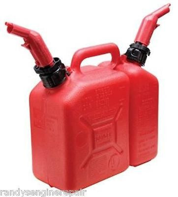 1.5 gallon Gas / 2.5 quart Oil Low Emission Combo Can