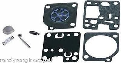 Carburetor Carb Rebuild Kit Zama Rb-107 / Echo Srm230 210 Trimmer