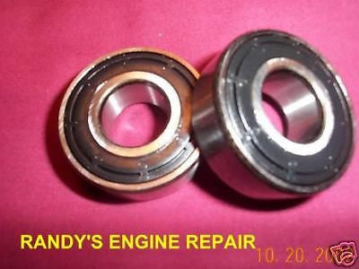 2 SPINDLE DECK BEARINGS JOHN DEERE MASSEY FERGUSON KOYO