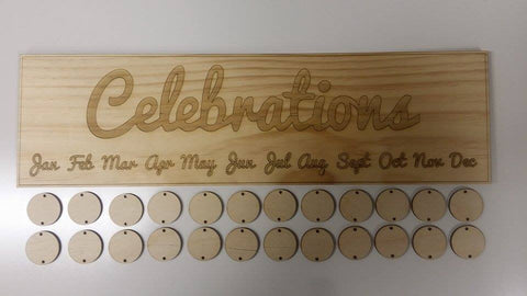 Celebrations Decorative Sign