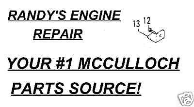Parts for McCulloch – Page 9
