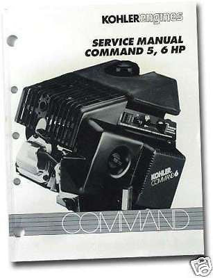 REPAIR Manual Models CH5 - CH6 TP-2337-A KOHLER Engine