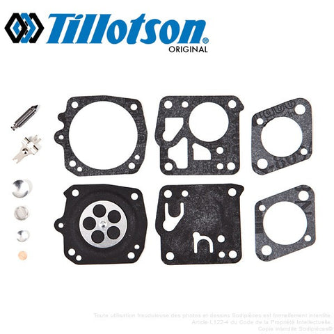 OEM Carburetor Carb Kit TILLOTSON HS on Homelite XL-12 Super XL Auto Chain Saw