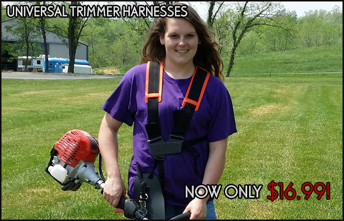 New low price on universal trimmer harnesses