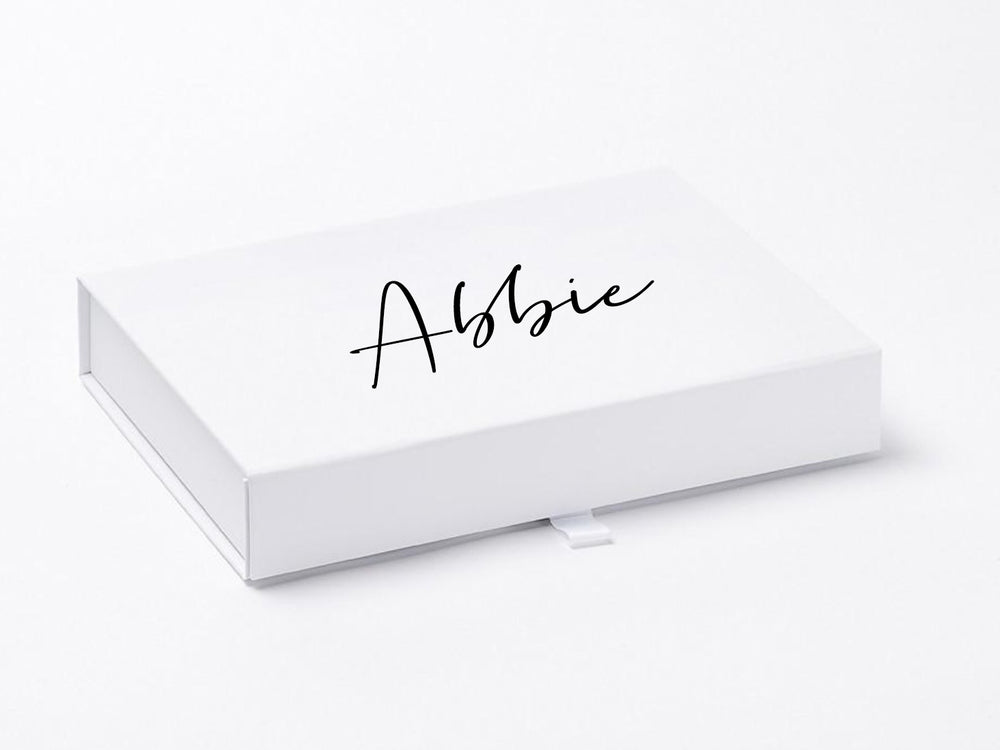 Personalised A5 Shallow Gift Box