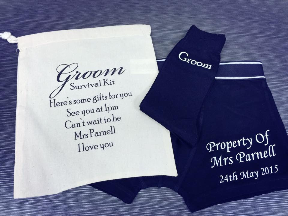 Personalised Groom Kit