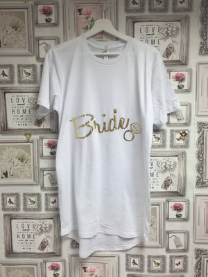 Bride Nightie/ Relaxed long tee
